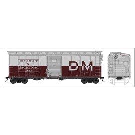 Bowser Trains 40' BOX CAR  DM HO