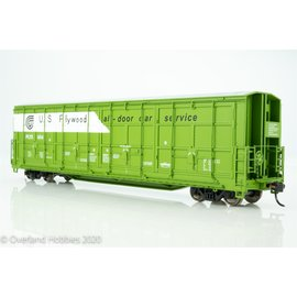 Walthers Proto 56'  Thrall All Door Box Car US Ply  HO