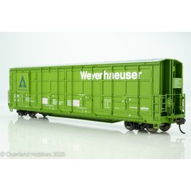 Walthers Proto Copy of 56'  Thrall All Door Box Car LUNX  HO