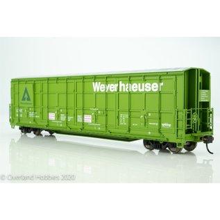 Walthers Proto 56' Thrall All Door Box Car Weyerhaeuser #4412 HO