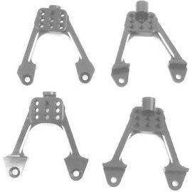 Hot Racing Aluminum Front & Rear Adjustable Shck Towers:Scx10