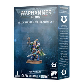 Games Workshop Ultramarines Captain Uriel Ventris Figure