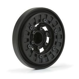 "Pro-Line Racing Vice CrushLock 2.6"" Black/Black 6x30 Wheels F/R 2"