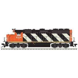 Atlas EMD GP40 DCC/LOKSOUND CN #9308 N