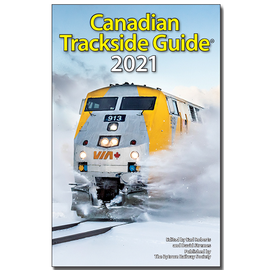 Kalmbach Publishing Canadian Trackside Guide 2021