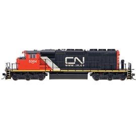 Intermountain SD40-2W LOCOMOTIVE DCC CN.CA HO