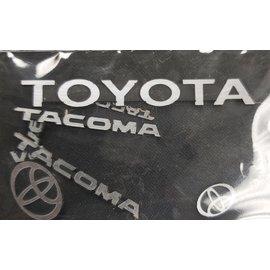 True North RC SCALE CAR BADGE - TOYOTA TACOMA