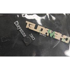 True North RC SCALE CAR BADGE - CHEVROLET CHEYENNE