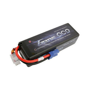 Gens Ace 11.1V 5000mah 3S 50C LIPO Hard EC5