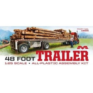 Moebius Models 1/25 48' Flatbed Trailer w/Cambered Deck