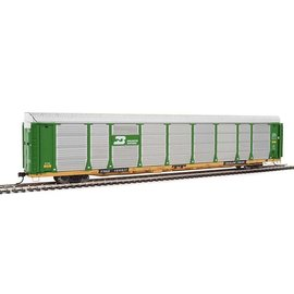 Walthers Proto 89' Thrall Bi-Level Auto Carrier BN HO
