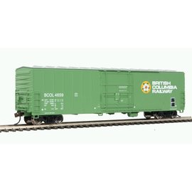 Walthers Trainline Insulated Boxcar BC Rail HO