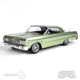 Redcat Racing Sixtyfour Green Kandy/Chrome Impala SS Lowrider Hopping