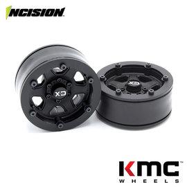 Vanquish Products Incision 1.9 KMC KM233 Hex Black Plastic