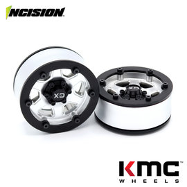 Vanquish Products Incision 1.9 KMC KM233 Hex Silver Plastic