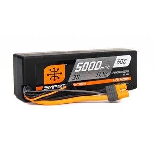 Spektrum 5000mAh 2S 7.4V 50C Smart LiPo Hardcase; IC3