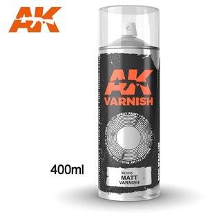 AK Interactive Matt Varnish Spray (USA) 400ML