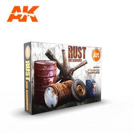 AK Interactive 3G Rust Set