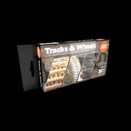 AK Interactive 3G Tracks And Wheels