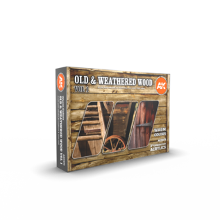 AK Interactive 3G Old & Weathered Wood Vol.1