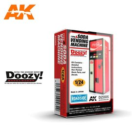 Doozy Doozy 1/24 Soda Vending Machine / Type A