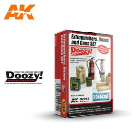 Doozy Doozy 1/24 Extinguishers, Boxes and Cans Set