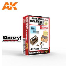 Doozy Doozy 1/24 Wooden Boxes w/ Jack Daniel's Bottles