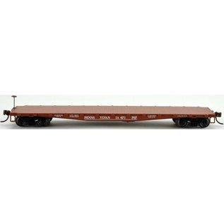 Bowser Trains F30a Flat Car Pennsylvania RR HO