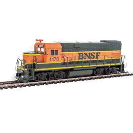 Walthers Trainline EMD GP15-1 - Standard DC -- Burlington Northern & Santa Fe (green, orange, yellow) HO