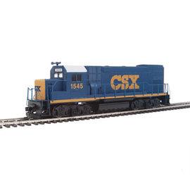 Walthers Trainline EMD GP15-1 - Standard DC -- CSX Transportation (YN3; blue, yellow, white) HO