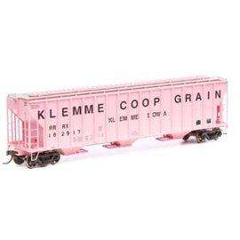 Athearn HO RTR FMC 4700 Covered Hopper,Klemme Coop #182922