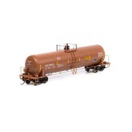 Athearn HO RTR 20,900-Gal Acid Tank,TILX/Red/Brown #110021