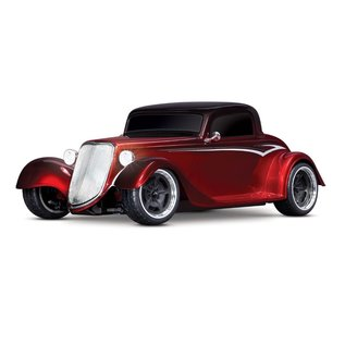 Traxxas Factory Five '33 Hot Rod Coupe 1/10 AWD Red Fade