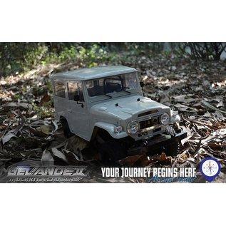 RC4WD 1/10 Gelande II Truck Kit w/Land Cruiser Body Set