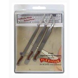 Alpha Abrasives Super Micro Tip Tweezers