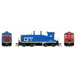Rapido Trains SW1200 GTW W/DCC/SND HO #1514 Red/Blue