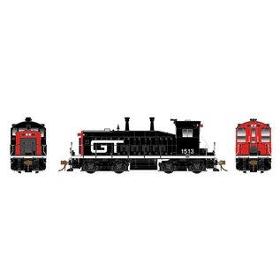 Rapido Trains SW1200 GTW W/DCC/SND HO #1513 Orange/Black