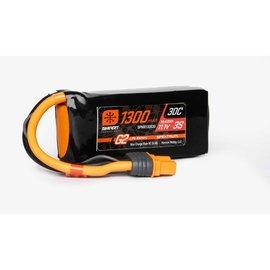 Spektrum 1300mAh 3S 11.1V Smart G2 LiPo 30C; IC3