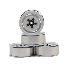 "RC4WD 1.55"" Landies Vintage Beadlock Wheels White"