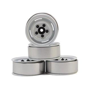 "RC4WD 1.55"" Landies Vintage Beadlock Wheels White (4)"