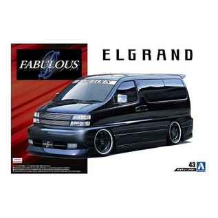 Aoshima 1/24 2000 Fabulous APE50 Elgrand Nissan