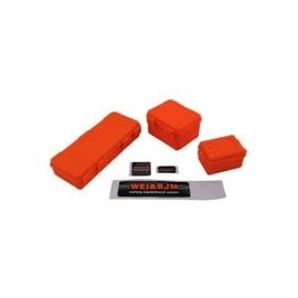 Hobby Details 1/10 Tool Case of Scale Accessories for RC Crawler Orange