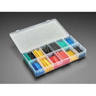 Hobby Details 280 Pieces Colored Heat Shrink Tube Kit