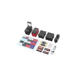 Hobby Details 1/10 RC Decorative 5pcs set Tool Case Scale Accessories Black
