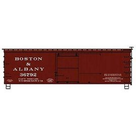 Classic Metalworks HO 36'  Boxcar, Fishbelly - Kit  B&A
