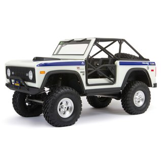 1/10 SCX10 III Early Ford Bronco 4wd RTR (White)