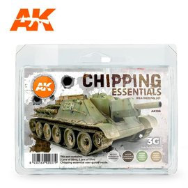 AK Interactive Chipping Essentials Weathering Kit