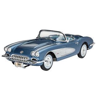 Revell Germany 1/24 58 Corvette Roadster w/paint
