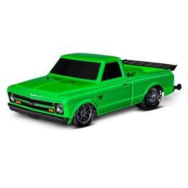 Traxxas 1/10 1967 Chevrolet C10 Drag Slash Green Machine