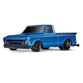 Traxxas 1/10 1967 Chevrolet C10 Drag Slash Brilliant Blue